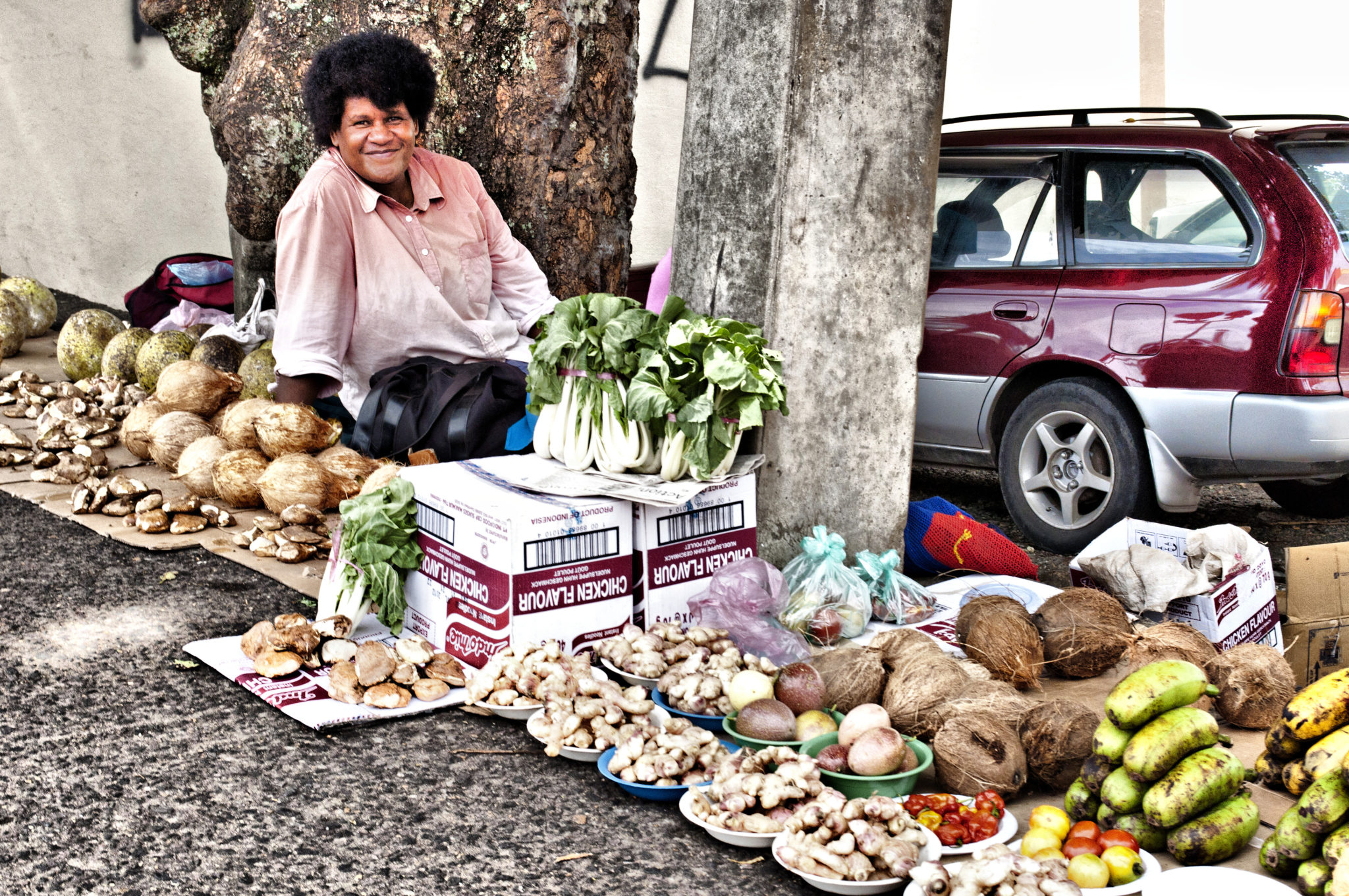 Fiji-Islands-Woman-Market-Stall