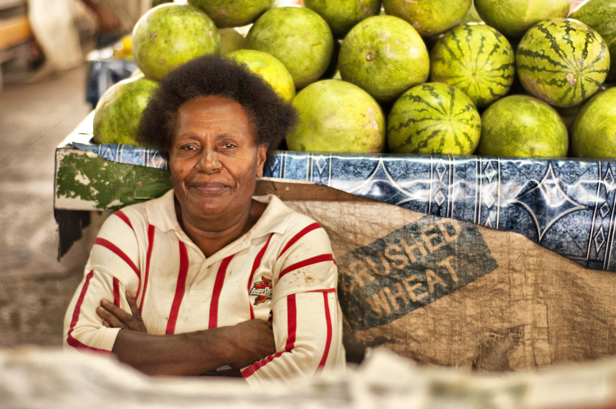 Fiji-Islands-Woman-Watermelon