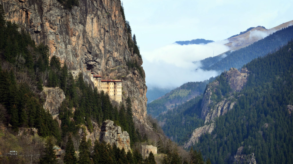 Kloster-Sumela-Landschaft