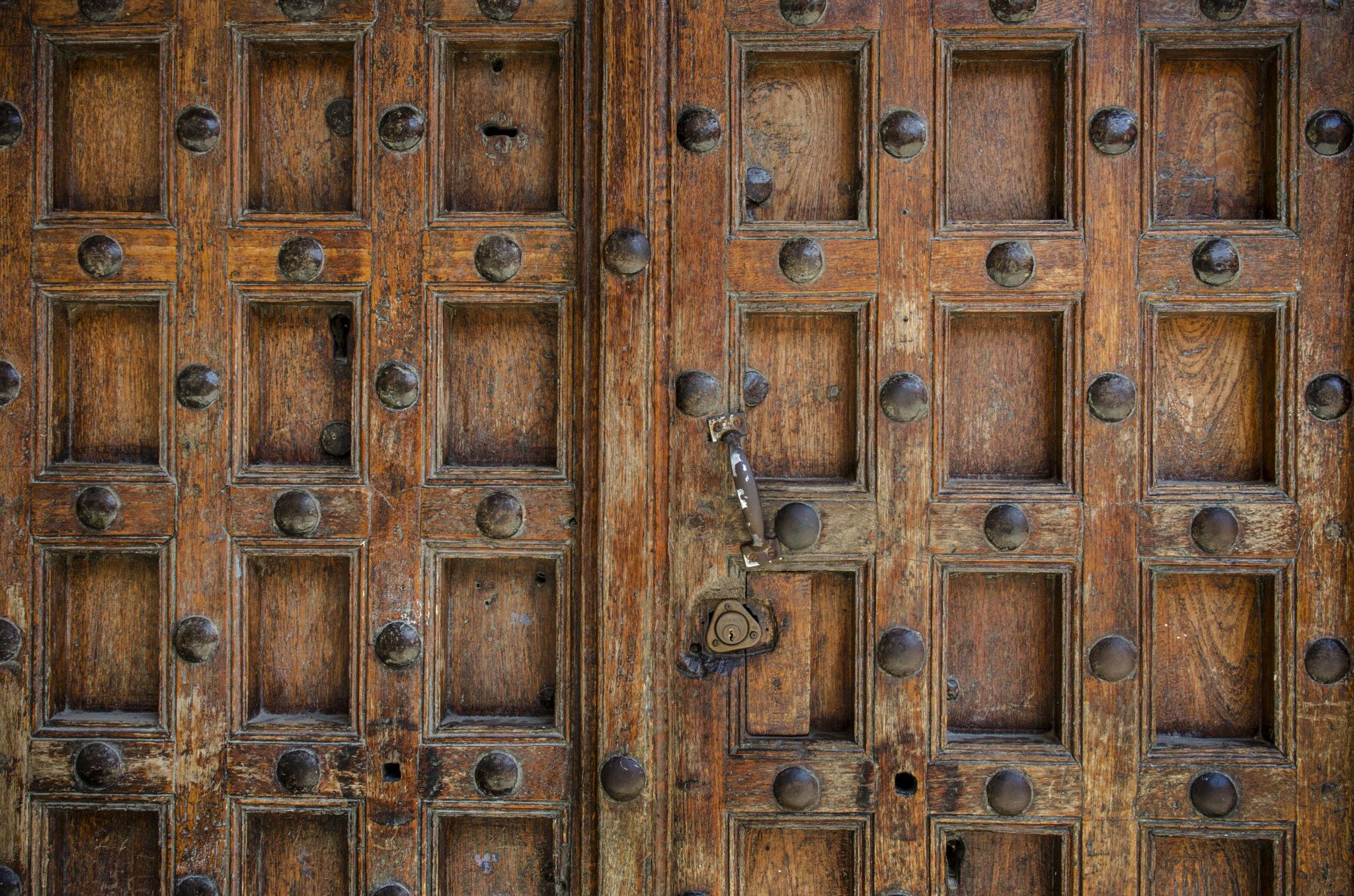Stone-Town-Wooden-Door