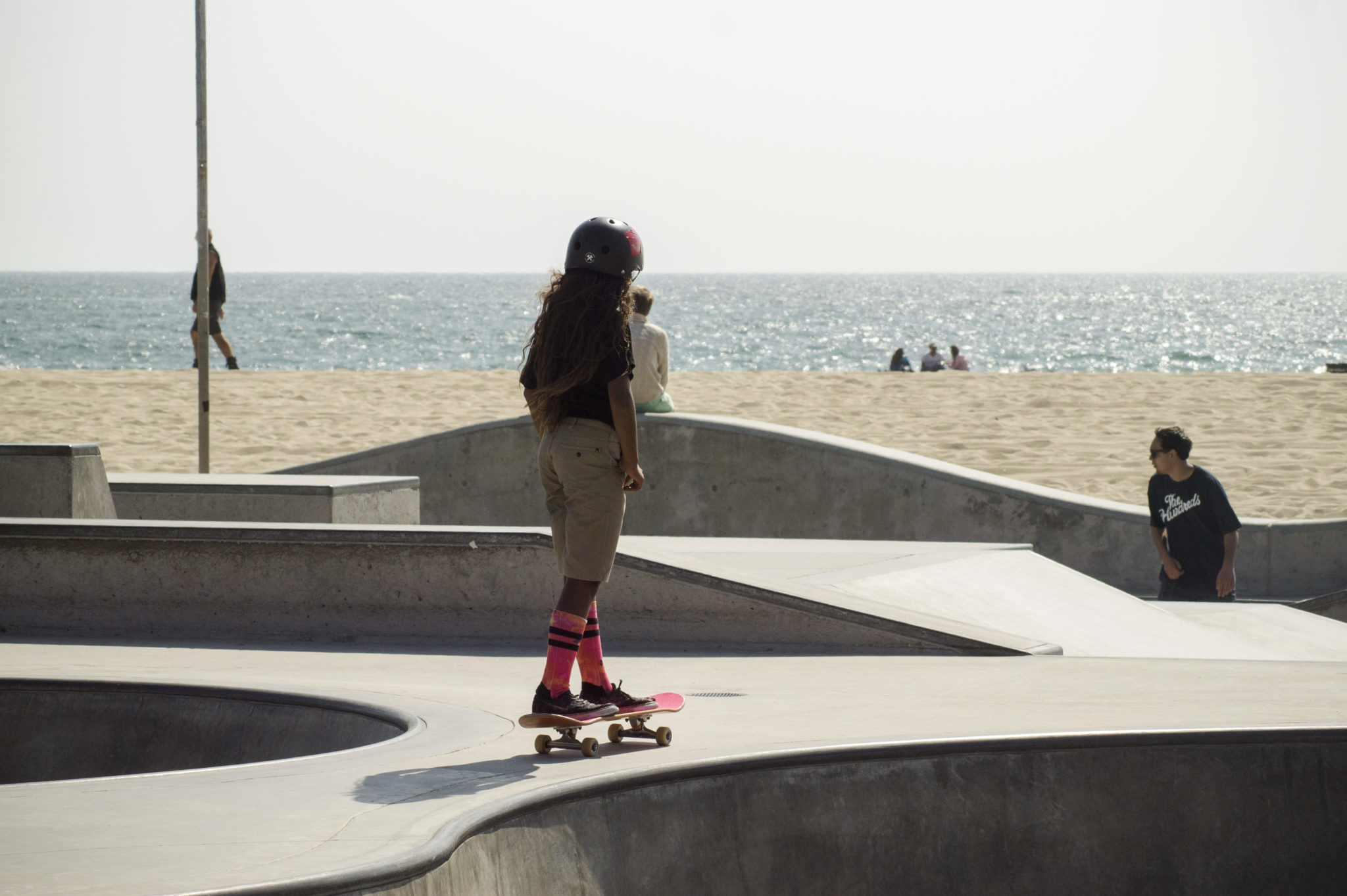 Venice-Beach-Boardwalk-Skatergirl