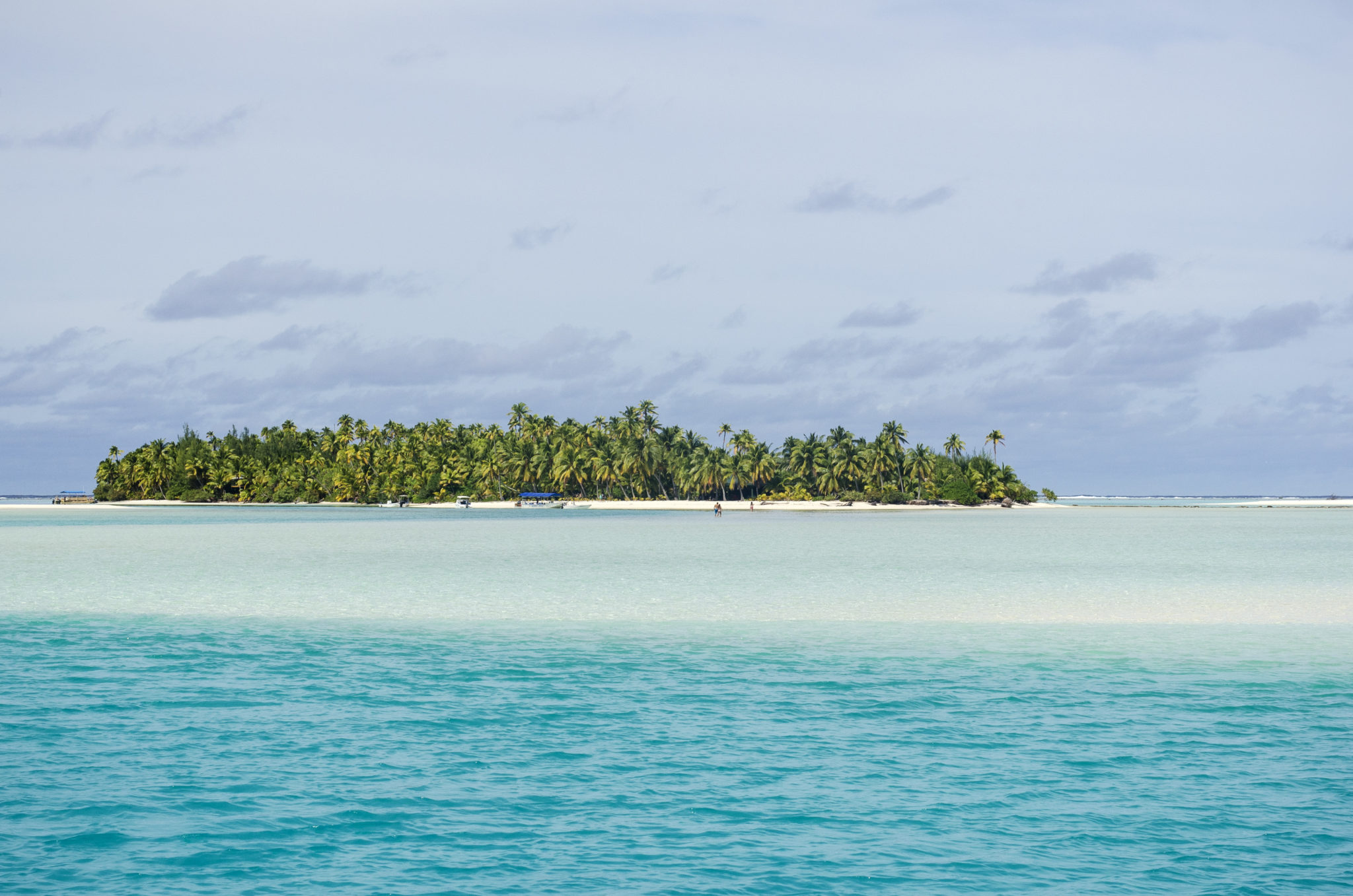 This small island is not far away from Aitutaki (Cook Islands)