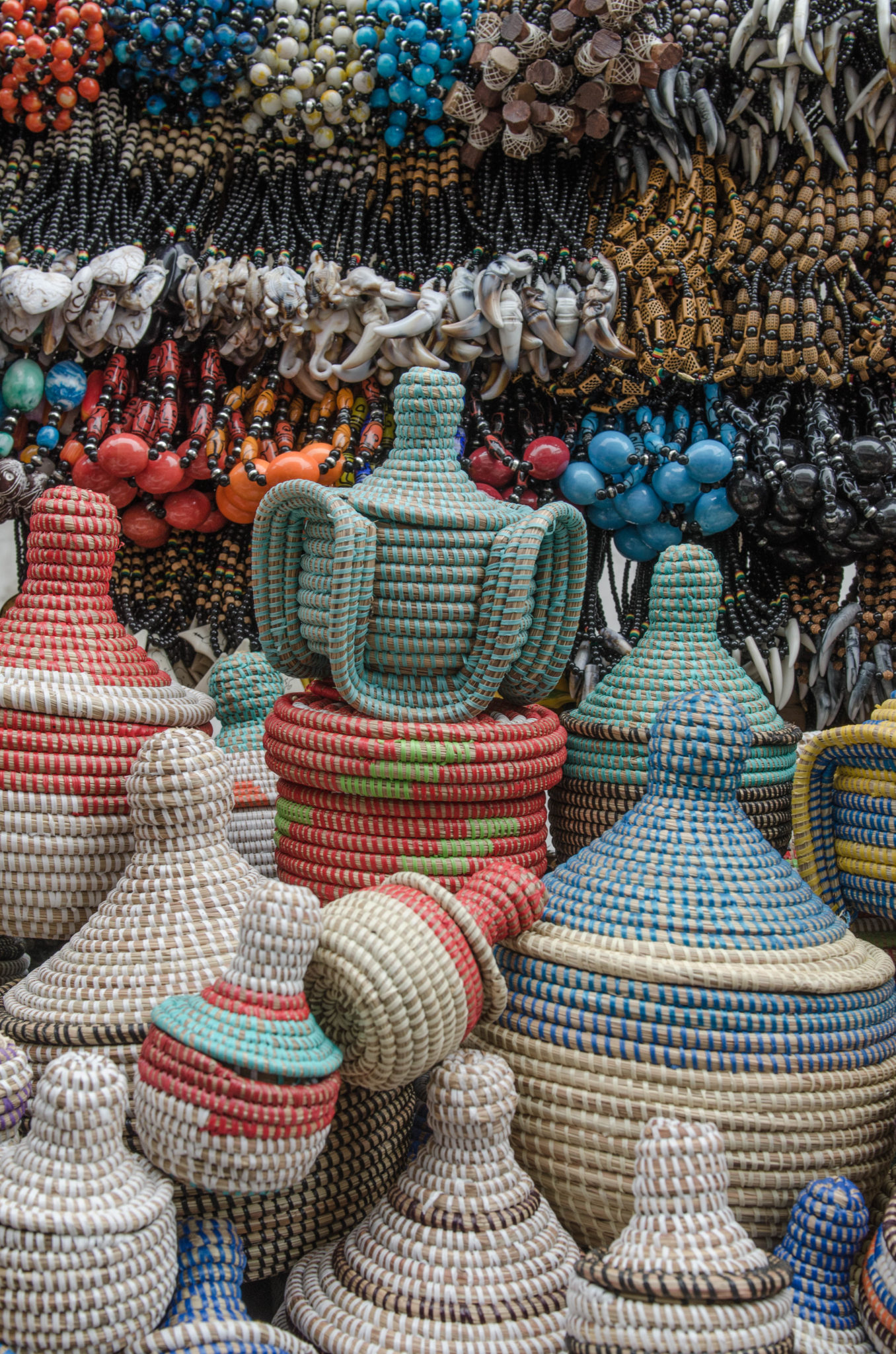 Senegal Travel Guide: These colourful baskets are probably the best items to take home as a souvenir