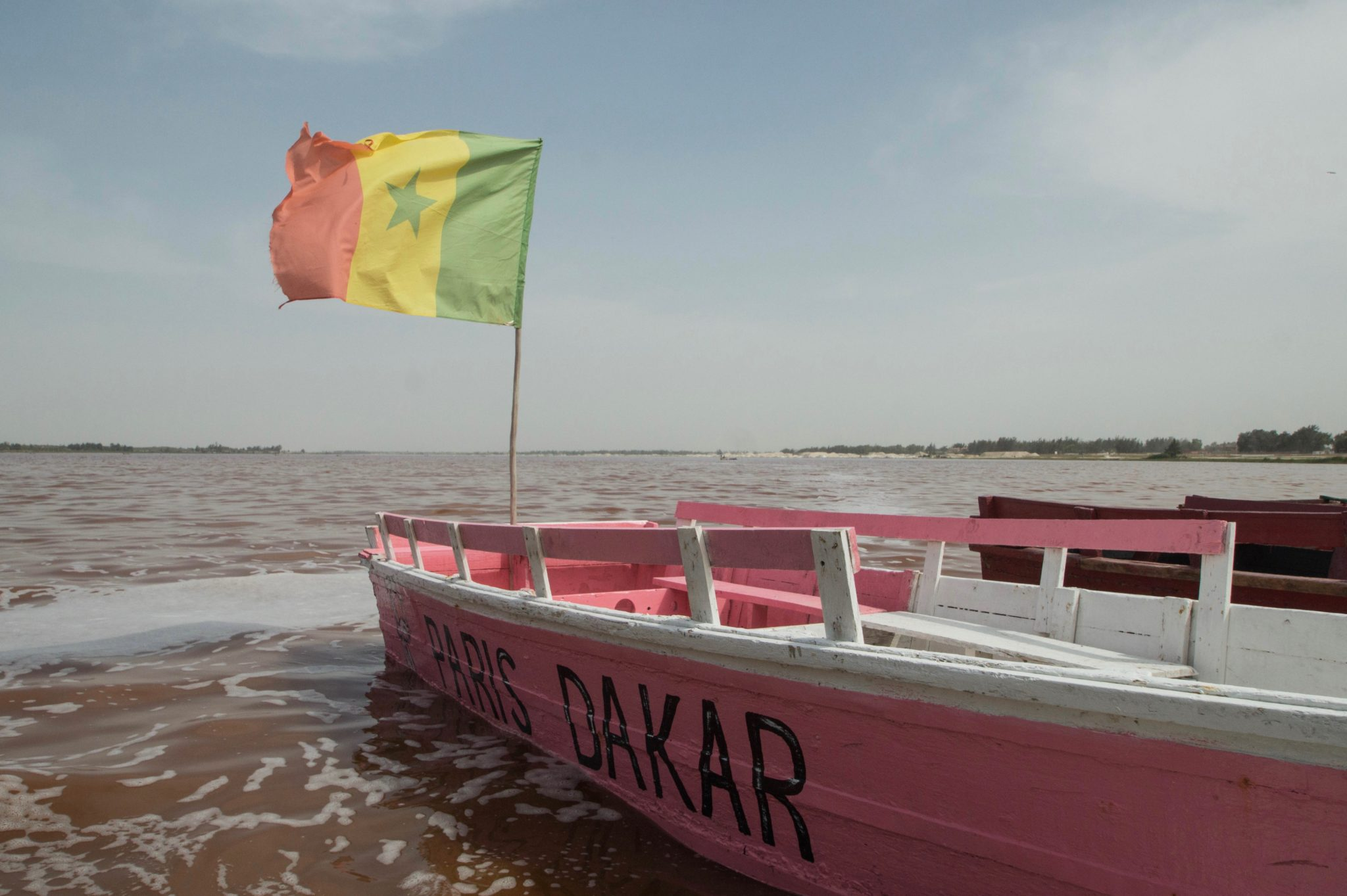 Senegal Travel Advice: Lac Rose is a naturally pink lake