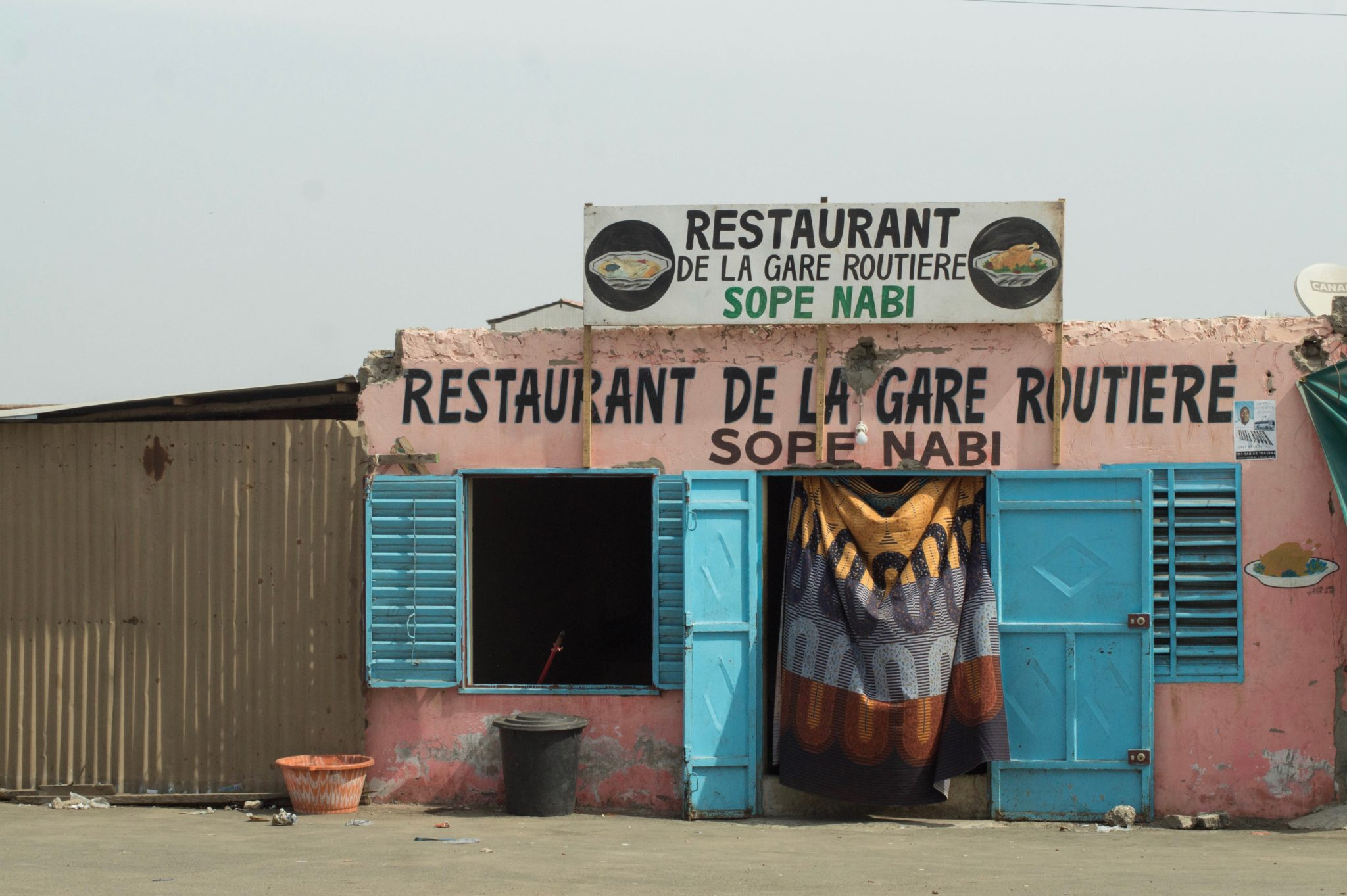 Senegal Travel Blog: Hungry? Restaurants in Senegal are simple but yummy.