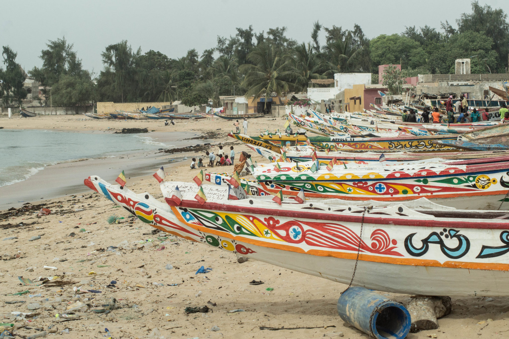 Senegal Travel Advice: The colourful pirogues in Mbour are a true landmark