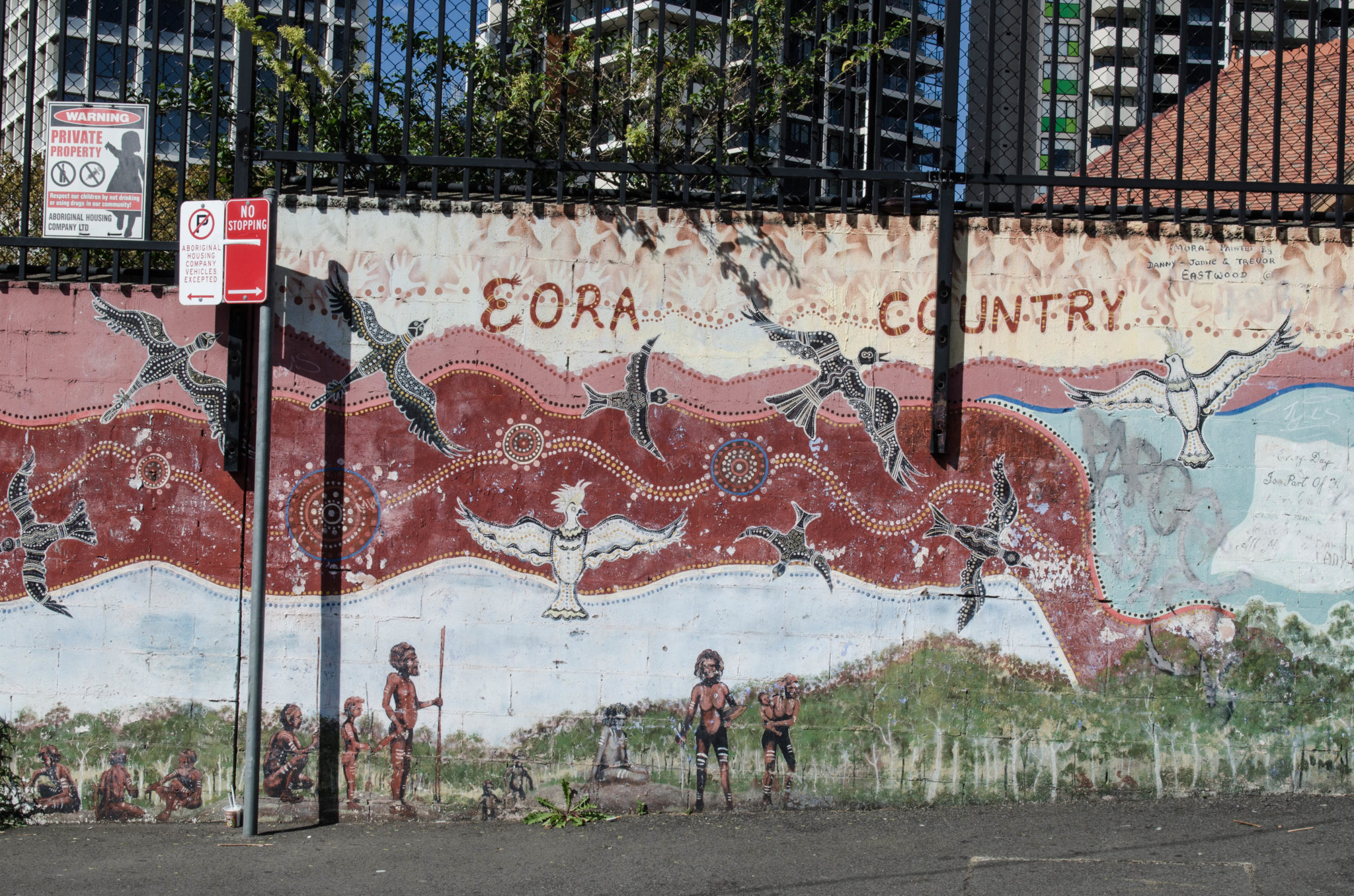 Redfern Sydney: Follow the murals to enter the new Redfern