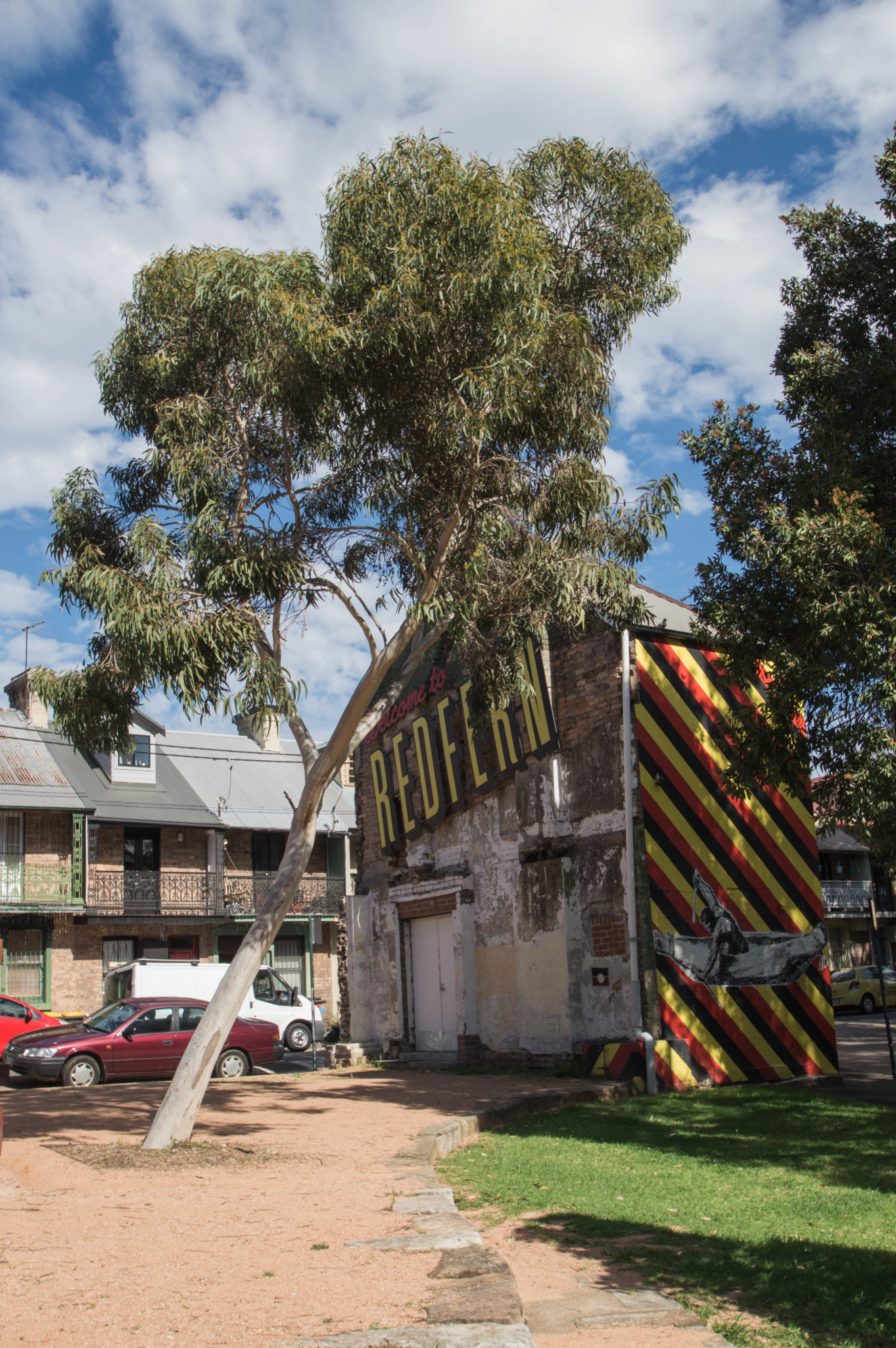Redfern Sydney: The colourful painting expressed the changes, Redfern went through