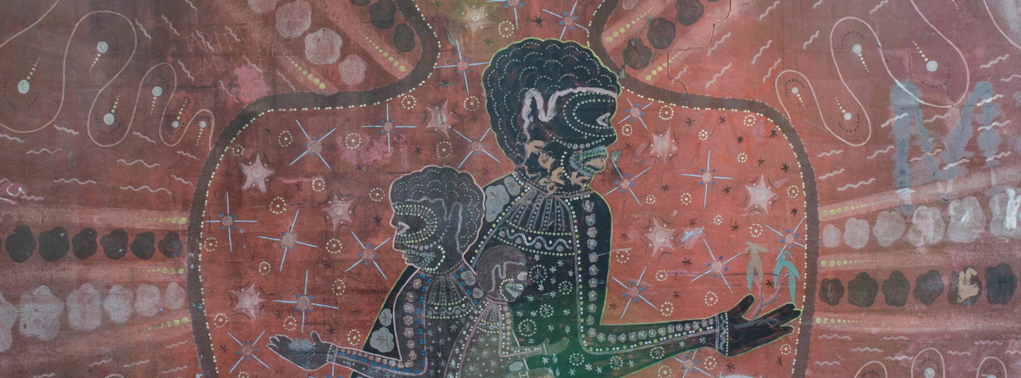 Redfern Sydney: The various painting in Redfern tell the Aboriginal history
