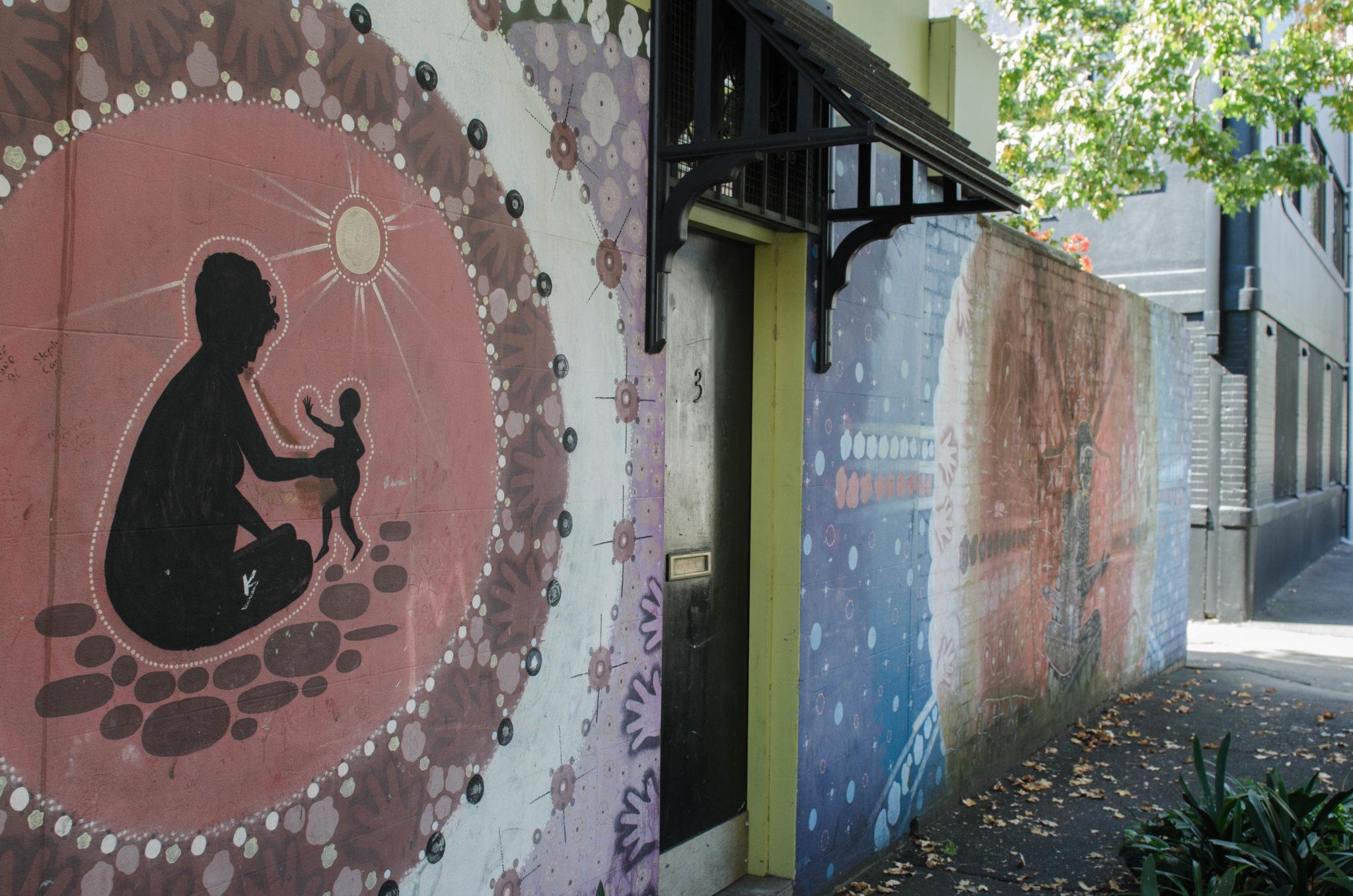 Redfern Sydney: Traces of Redfern's Aboriginal history can still be found.
