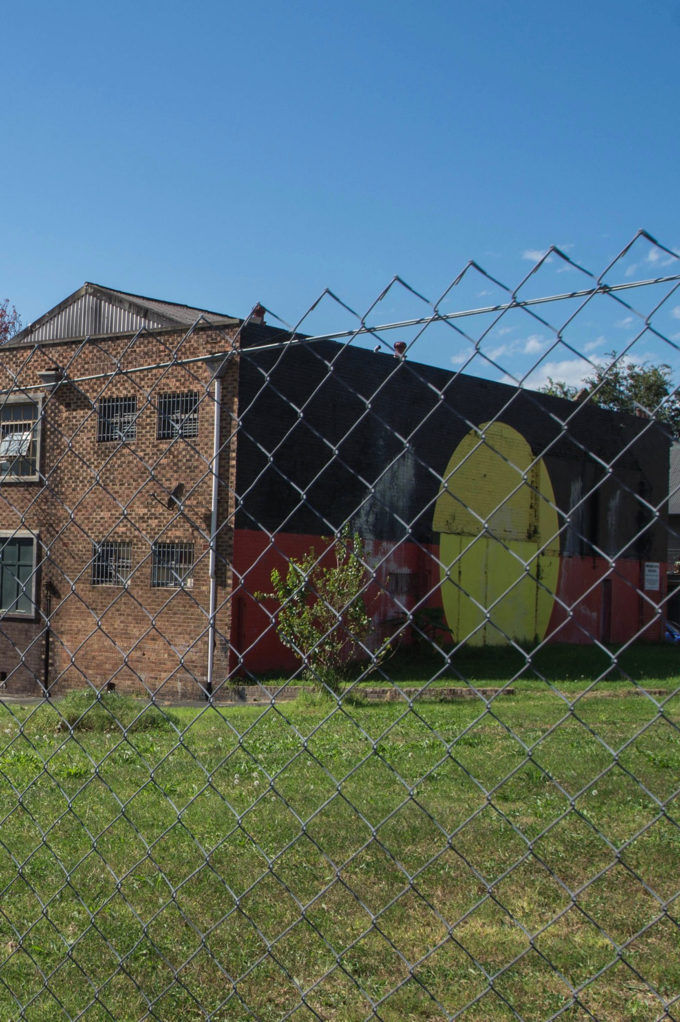 Redfern Sydney: What has once been the meeting point of boxing students, is now an empty square with little fun.