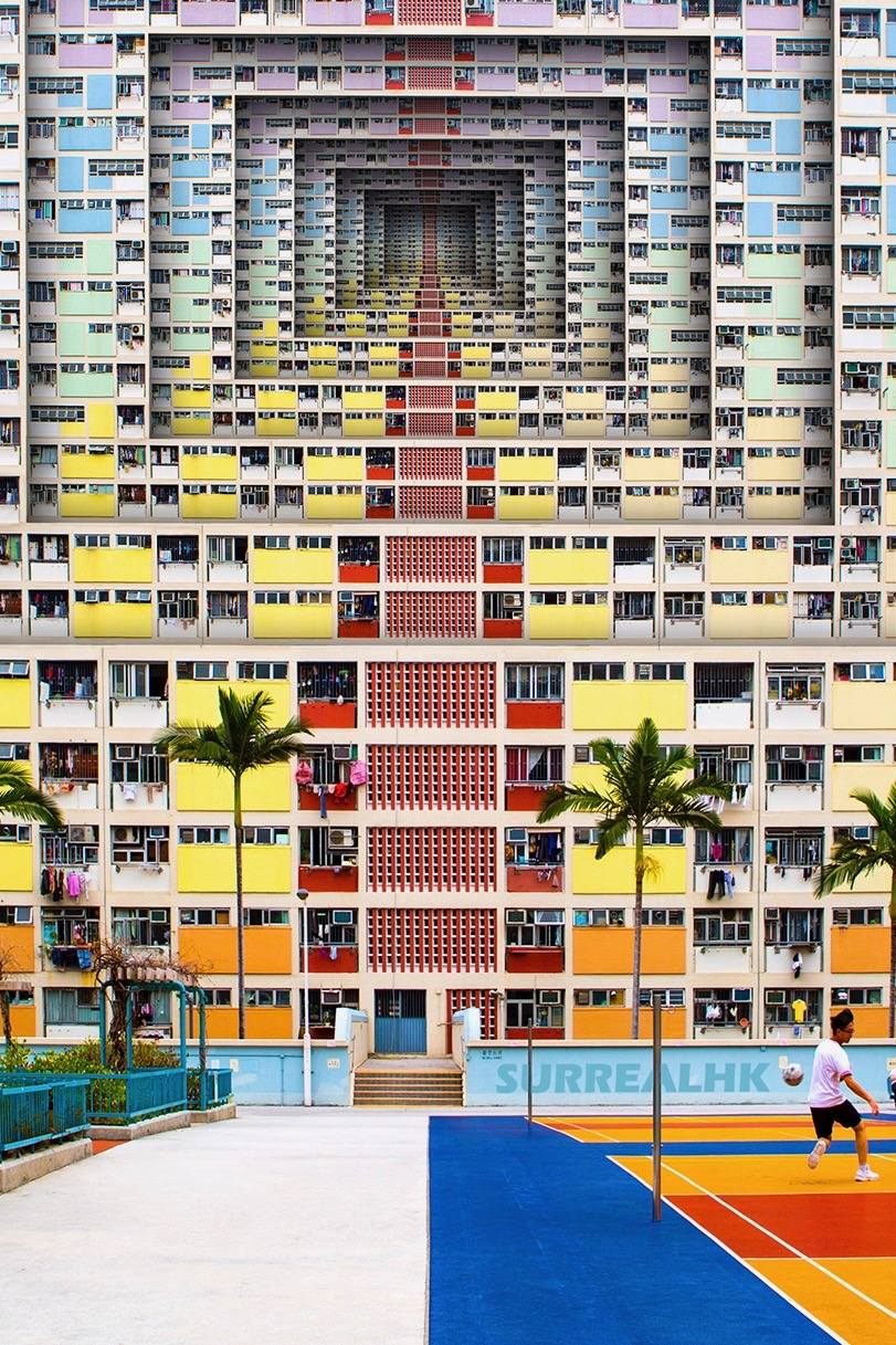 The famous Instagram account Surreal HK shows a very unique Hong Kong created by Tommy Fung