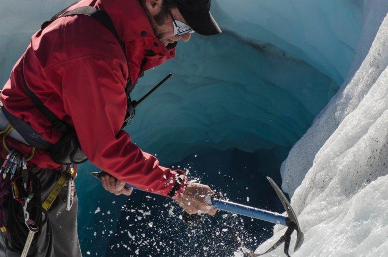 New Zealand: The Tasman Glacier - a heli hike to eternity
