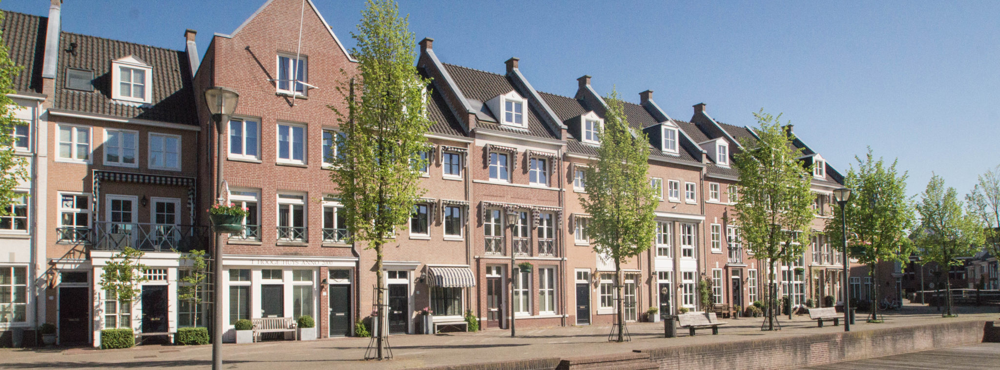 Helmond Netherlands: The neighbouring village Brandevoort looks like the Truman Show.