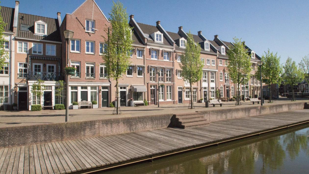 Helmond Netherlands: The neighbouring village Brandevoort looks like the Truman Show.