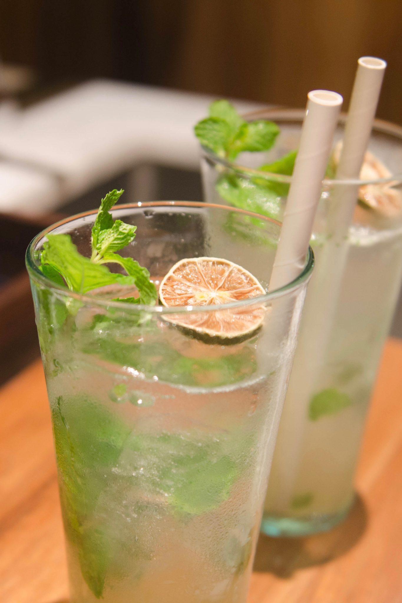 Katamama Hotel Bali: Freshly made Mojitos? Yes, please!