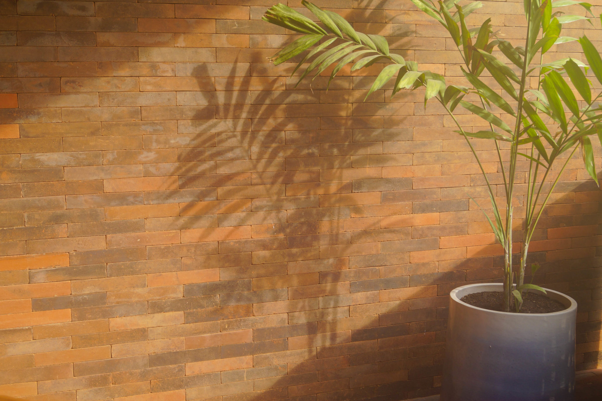 Katamama Hotel Bali: Bricks and palm trees, a perfect match.