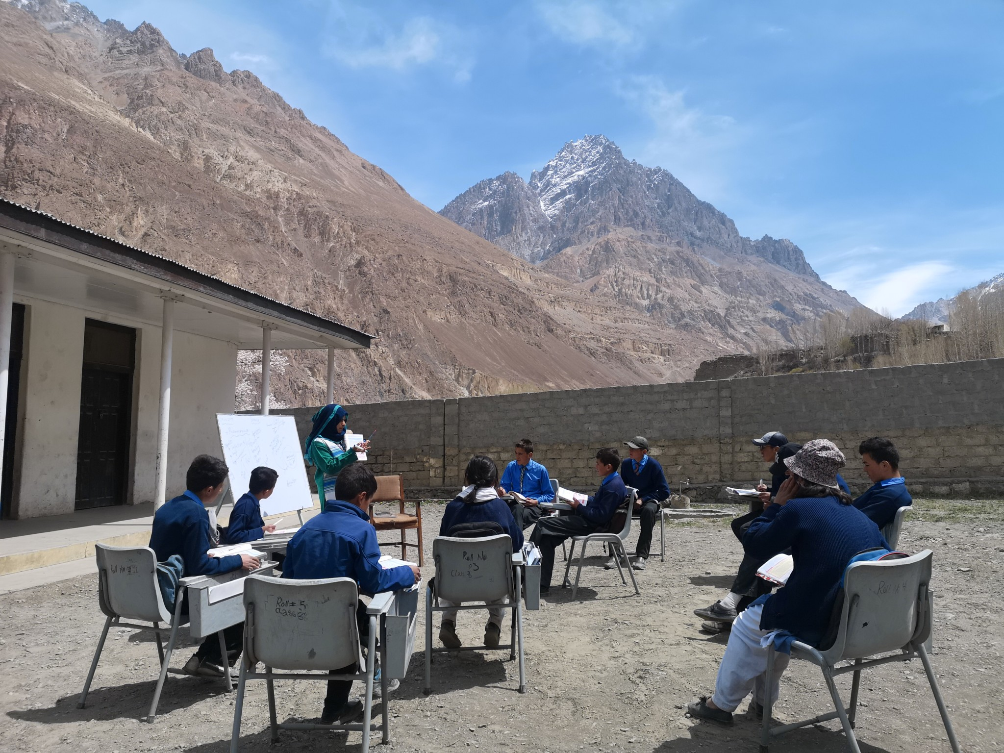Education within the mountains of Pakistan