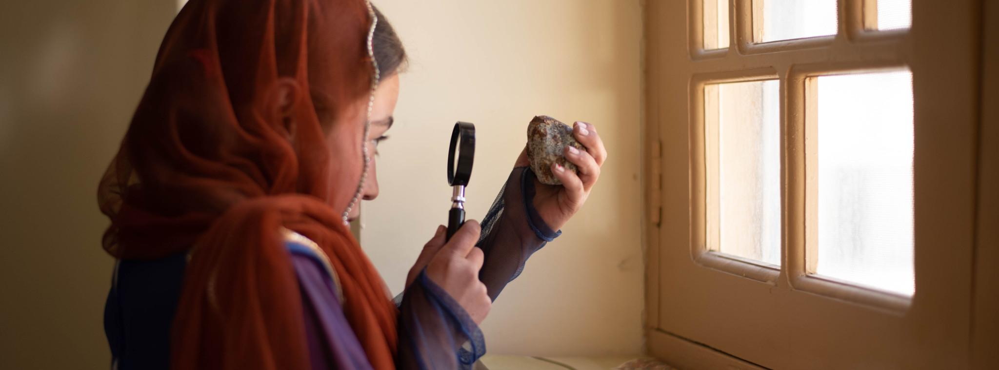Girl in Pakistan